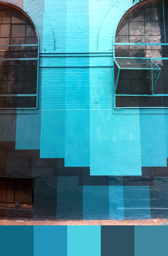Williamsburg's Blue palette