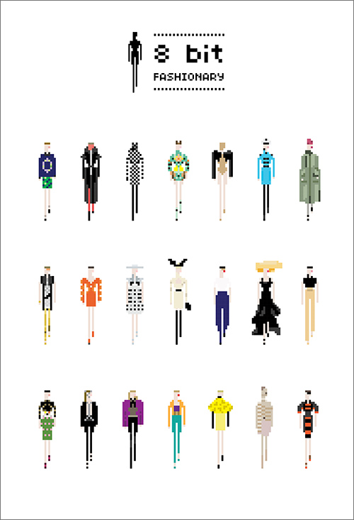 Fashionary by Penter Yip, a figure and flat template notebook series.