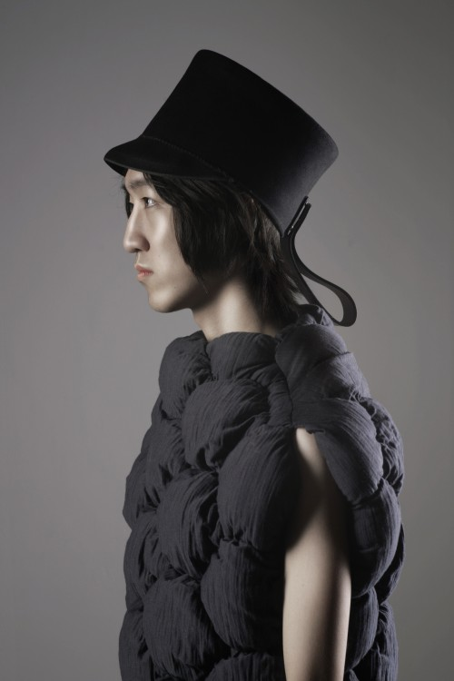 A image from Borre Akkersdijk's 3D Knitting collection developed with Innofa.