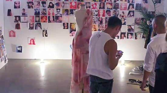 Creative Director Nicola Formichetti crafting the look for the upcoming Lady Gaga M•A•C VIVA GLAM Movement.