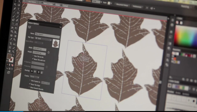Adobe Illustrator CS6 Sneak Peak's Pattern Creator